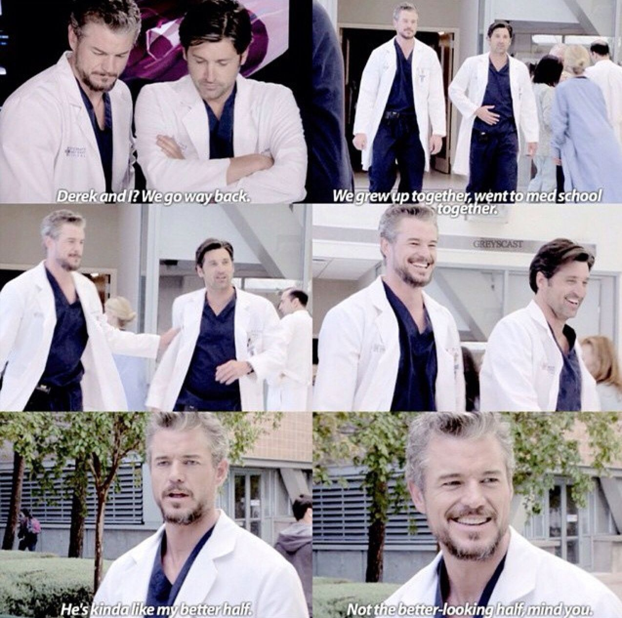 Derek and Mark | Grey\'s Anatomy | Pinterest | Anatomy and Grays anatomy