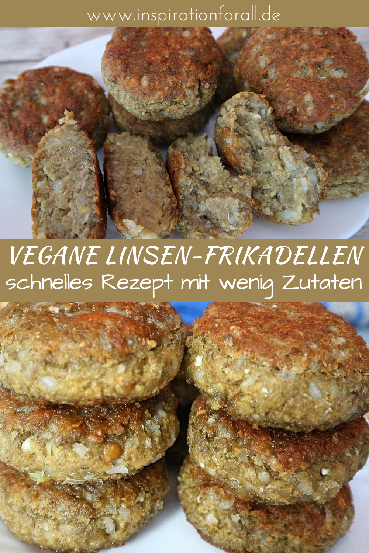 Linsen Frikadellen Mit Reis Veganes Rezept Mit Wenig Zutaten Rezept In 2020 Rezepte Kochrezepte Gesunde Vegane Rezepte