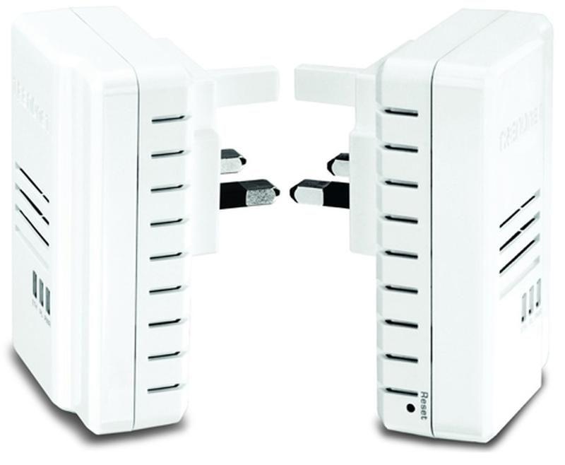 The TrendNet Powerline 500 AV2 adapters create a fast home