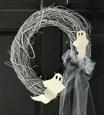 DIY Halloween Wreath Ideas, Halloween Decorating Ideas, halloween