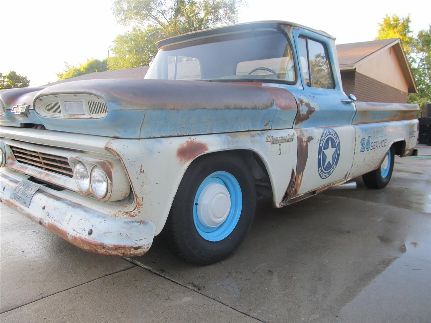 1960 chevy shop truck rat rod hot rod c10 apache patina