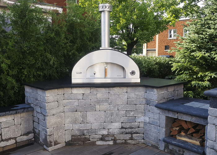 Portable Wood Fired Pizza Ovens Stainless Steel Pizza Ovens In 2020 Pizza Oven Patio Patio Furniture Fire