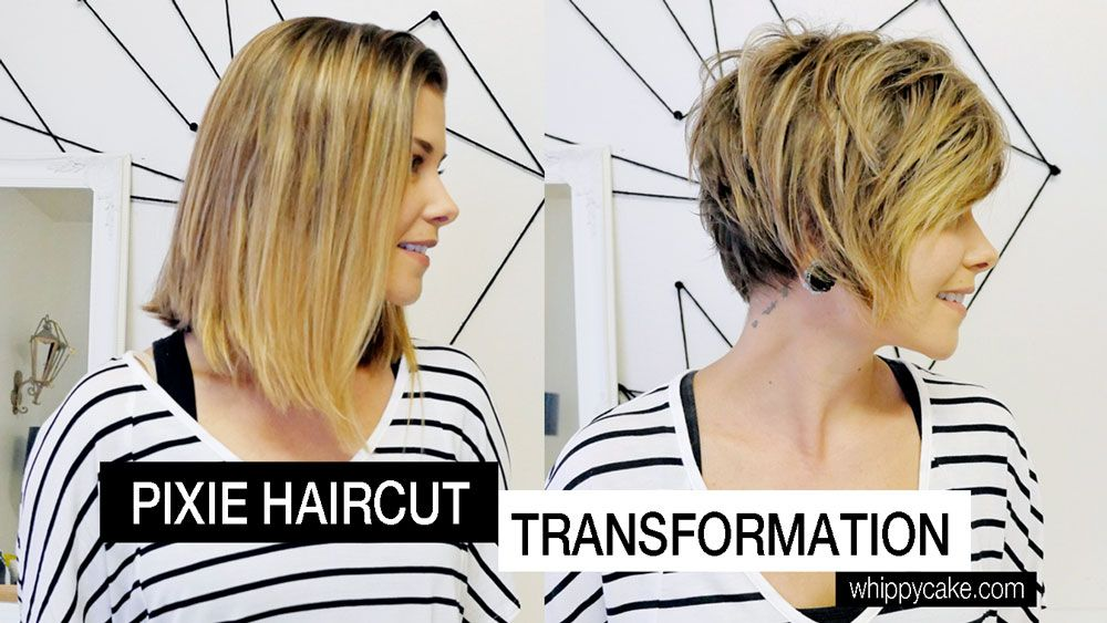 Pixie Haircut Transformation: Michele's Before and After
