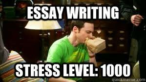 Writing an essay for college application joke