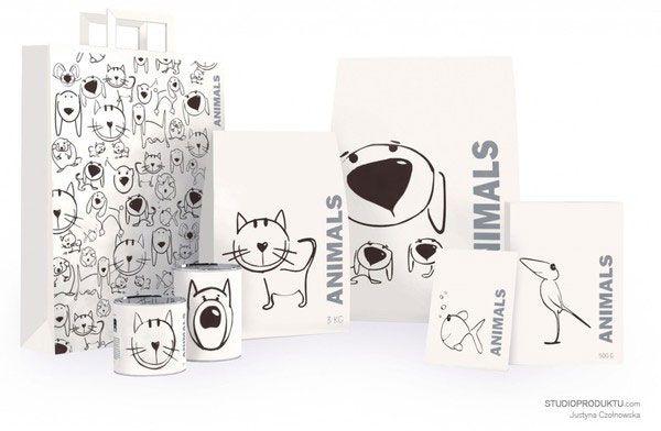 40 Creative Pet Food Packaging Pet Food Packaging Pet Shop Logo