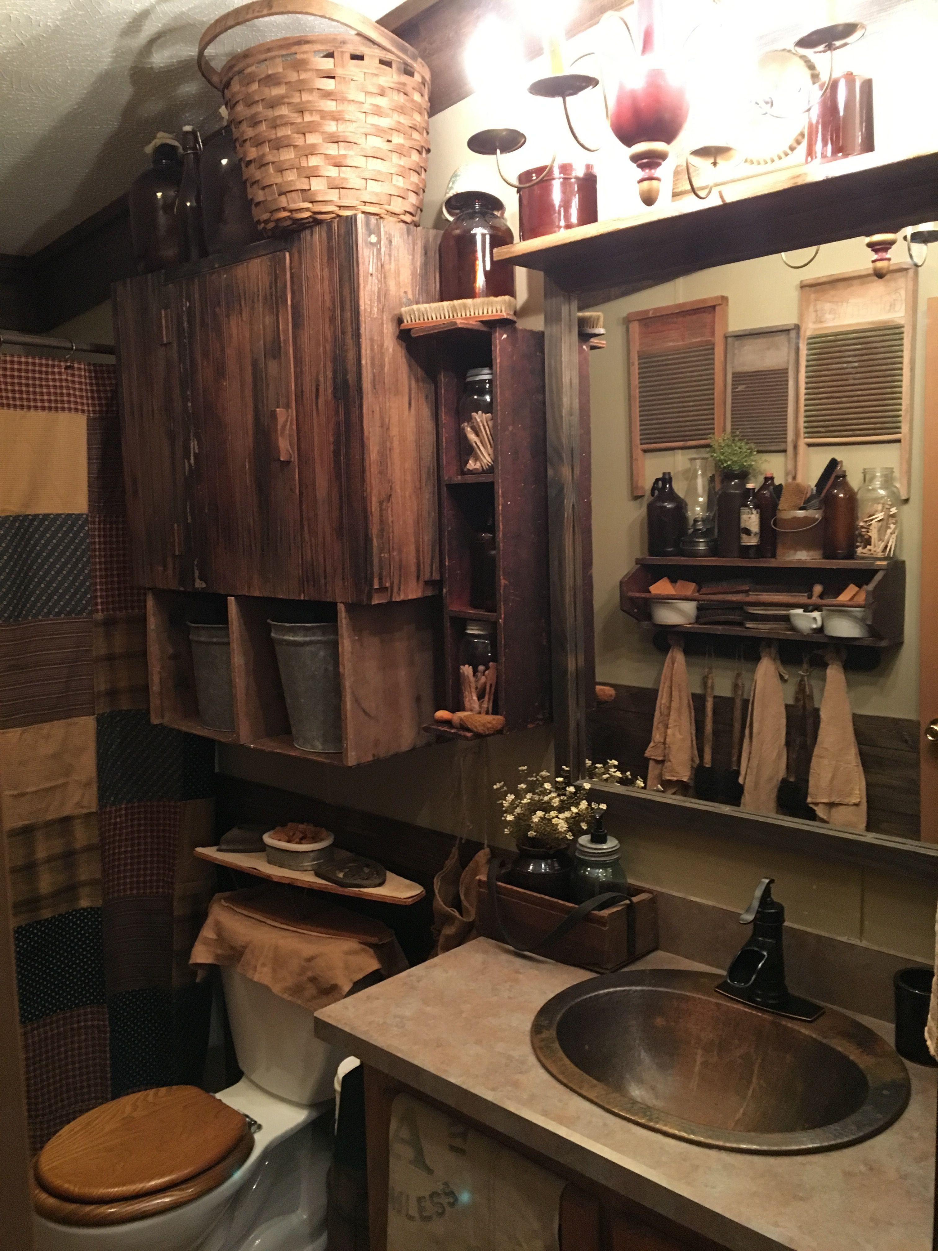 Primitive bathrooms - Primitive Bathroom