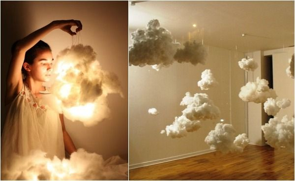 10 Statement Light Fixtures You Can Make Yourself Cloud