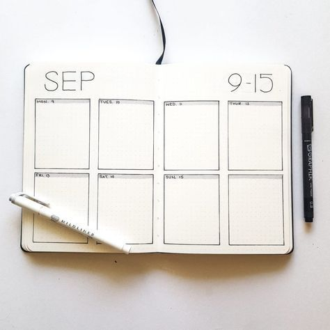 15 Simple Bullet Journal Page Ideas for the not-so-artsy | Elizabeth Journals