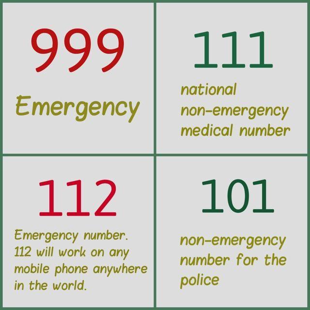 999 111 101 112 Emergency Numbers You Must Know Emergency Emergency Medical 999 Emergency