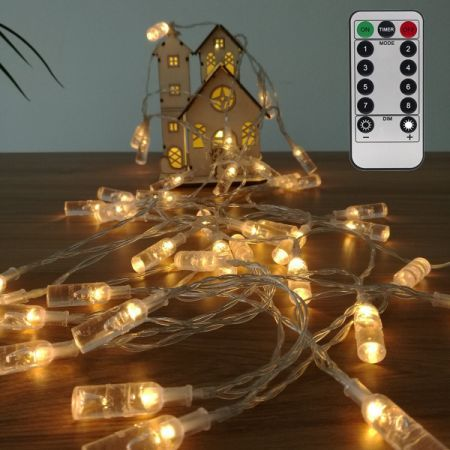 Battery Operated Remote Control Outdoor Christmas Lights Battery