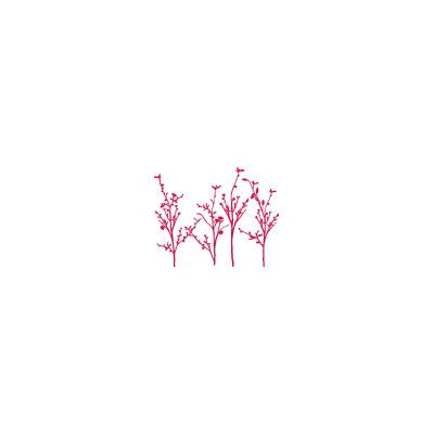 ADZif Spot Spring Branches Wall Decal Color: Red