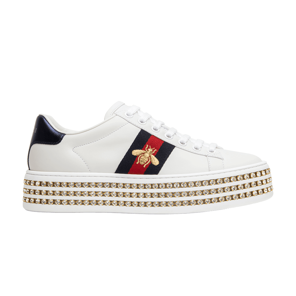 low priced a91e6 eb0ac Shop Wmns Gucci Ace Crystal - Gucci on GOAT. We guarantee authenticity on every  sneaker