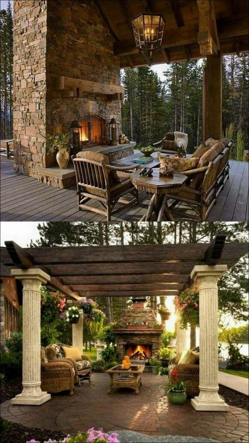 Upgrade Your Outdoor Space With A Patio Fireplace Outdoor