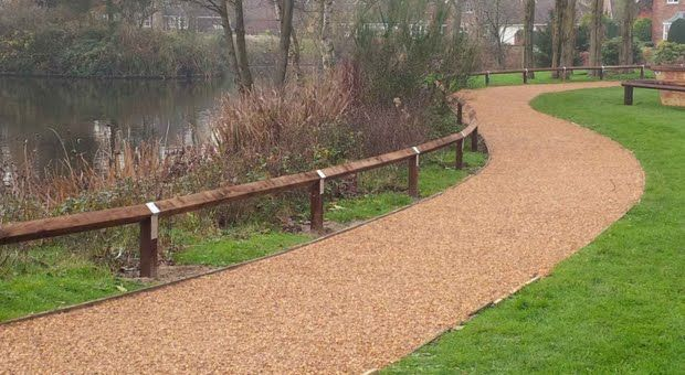 Terrabase Rustic - Resin Bound Permeable Surfacing Permeable