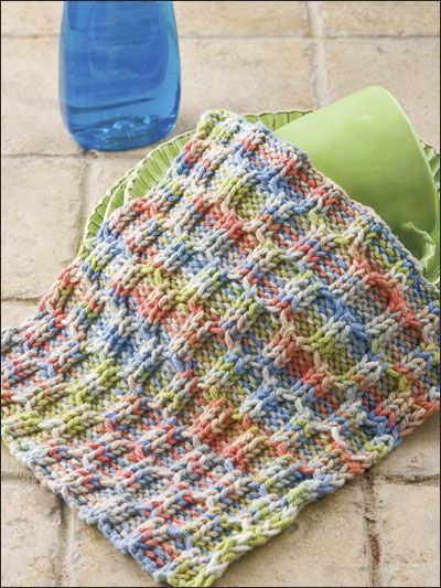 Sedona Spa Cloth Knitting Pattern Download From E Patternscentral