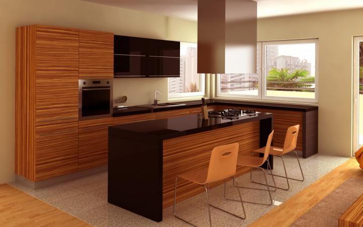 cocinas modernas para espacios pequeños - Buscar con Google | HOGAR ...