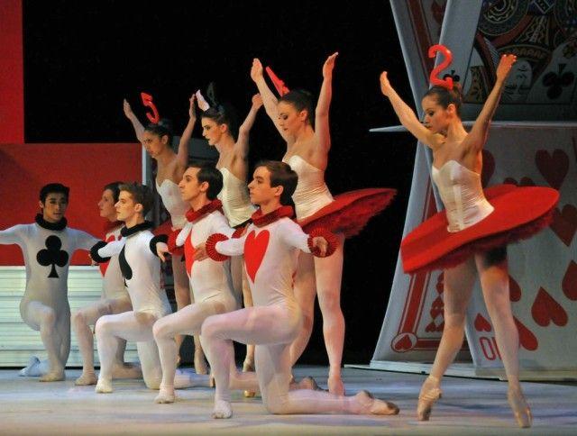 Royal Ballet Alice S Adventures In Wonderland London Roh