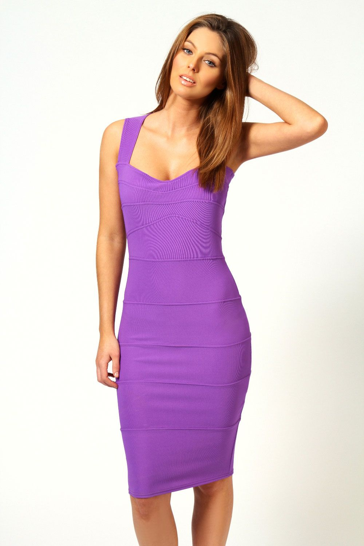 Rosie Panelled Bodycon Midi Dress at boohoo.com | Fashion is my drug ...