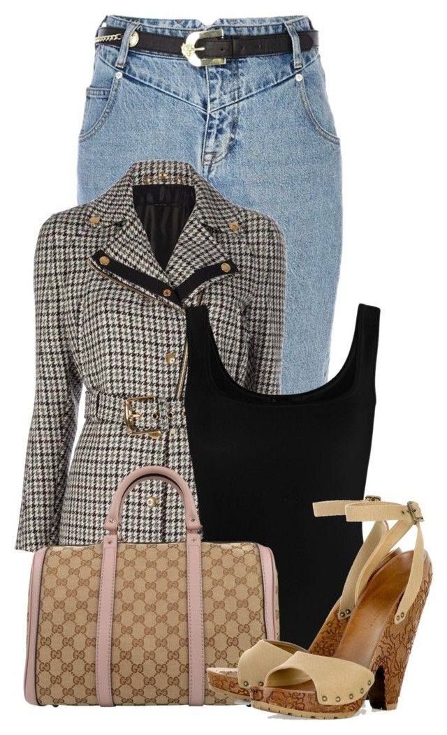 """Untitled #17279"" by nanette-253 ❤ liked on Polyvore featuring River Island, Gucci, Twenty and STELLA McCARTNEY"