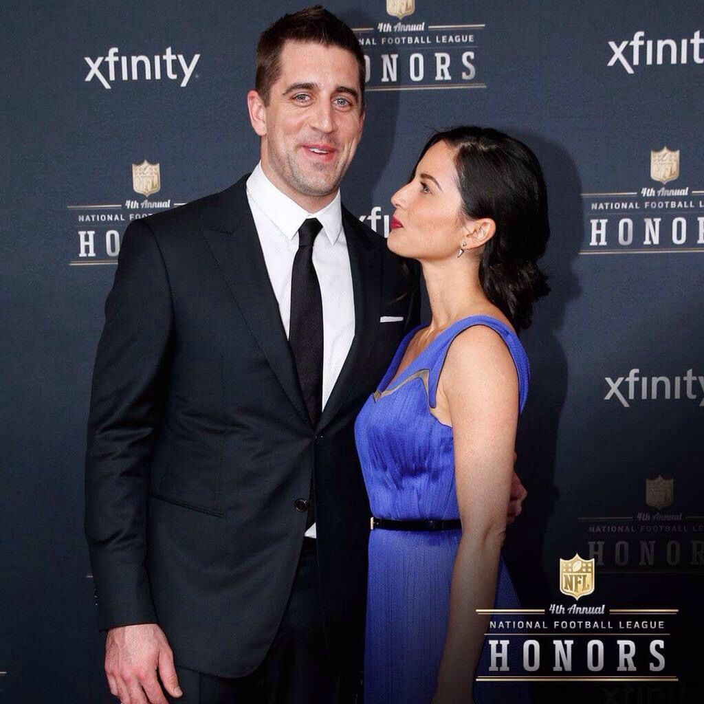Aaron And Olivia At The Nfl Honors Green Bay Packers Jordy Nelson Pro Football Teams