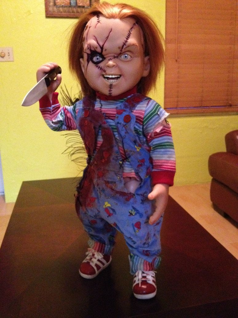 Life Size Chucky Doll by jayrbermuda on DeviantArt ...