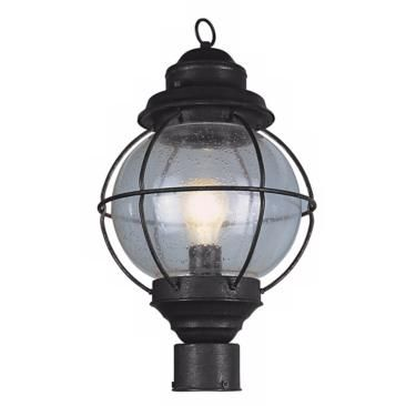 Tulsa lantern 19 high black outdoor post light fixture lamps plus tulsa lantern 19 high black outdoor post light fixture lamps plus open box outlet aloadofball Choice Image