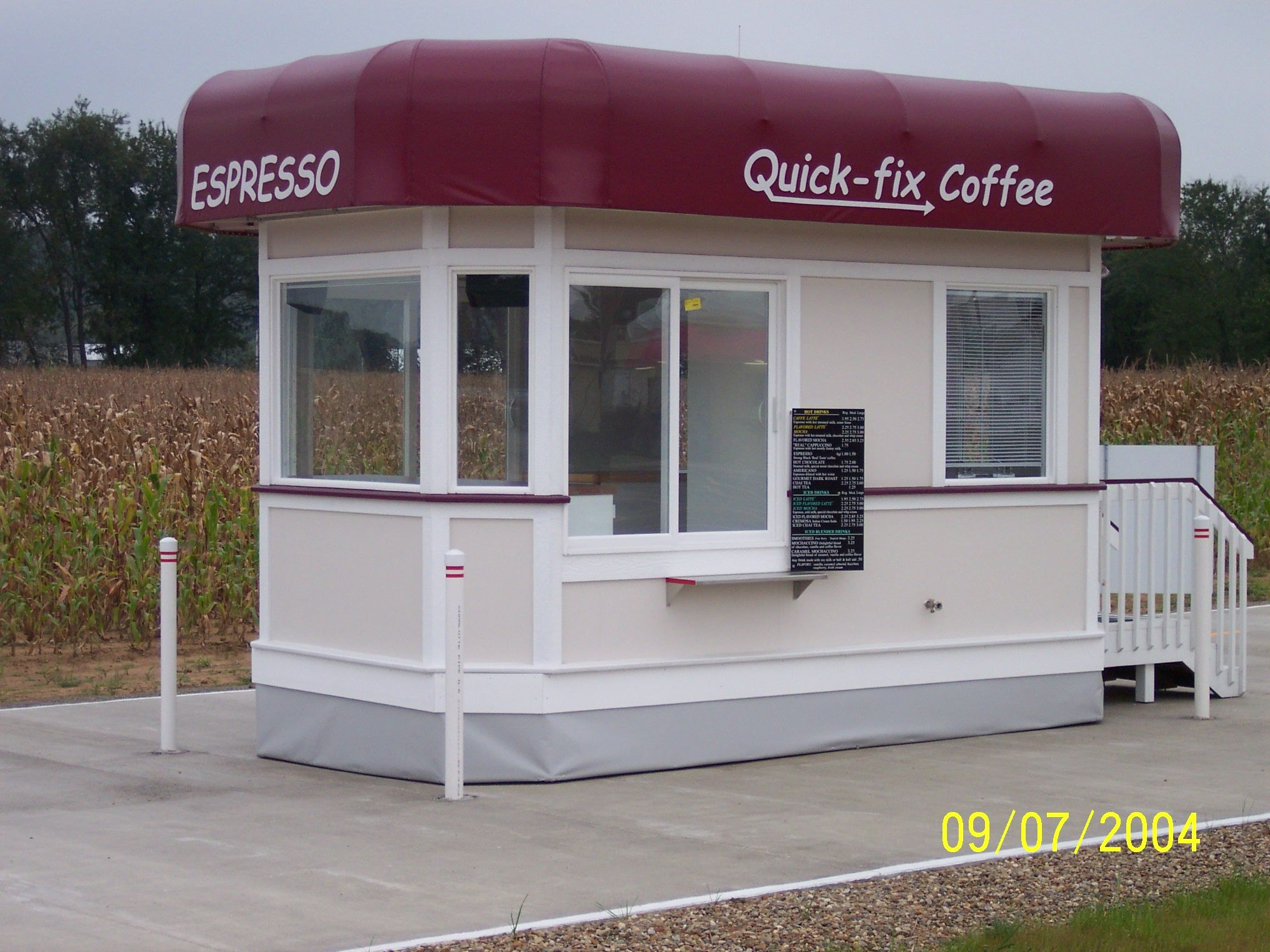 Espresso Stand Designs : How to open a coffee drive thru espresso thrus
