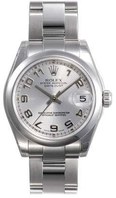 c0bb4cc69f4a Rolex Datejust Lady 31 Silver Concentric Dial Stainless Steel Oyster  Bracelet Automatic Watch