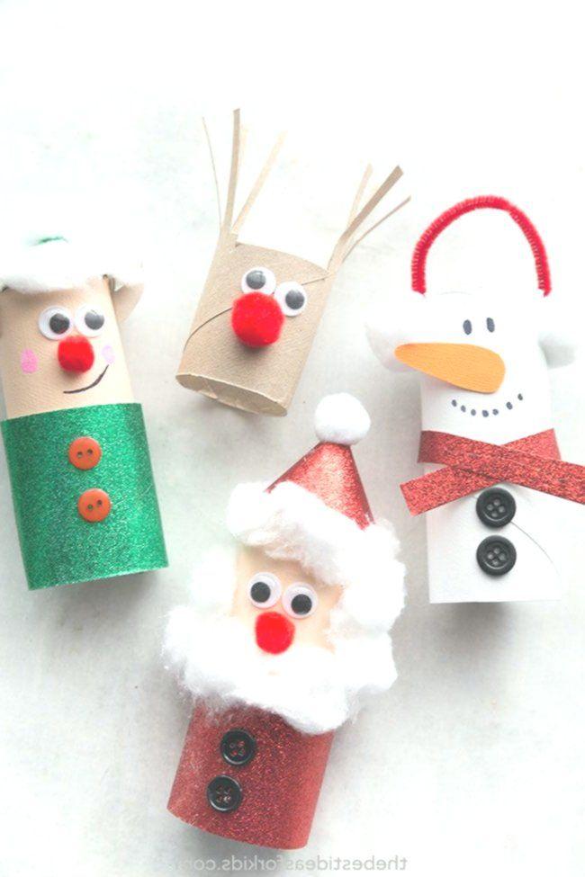 Basteln #in # Wraps #von #Papier #Kaffee #von Weihnachten #rouleaupapiertoilette