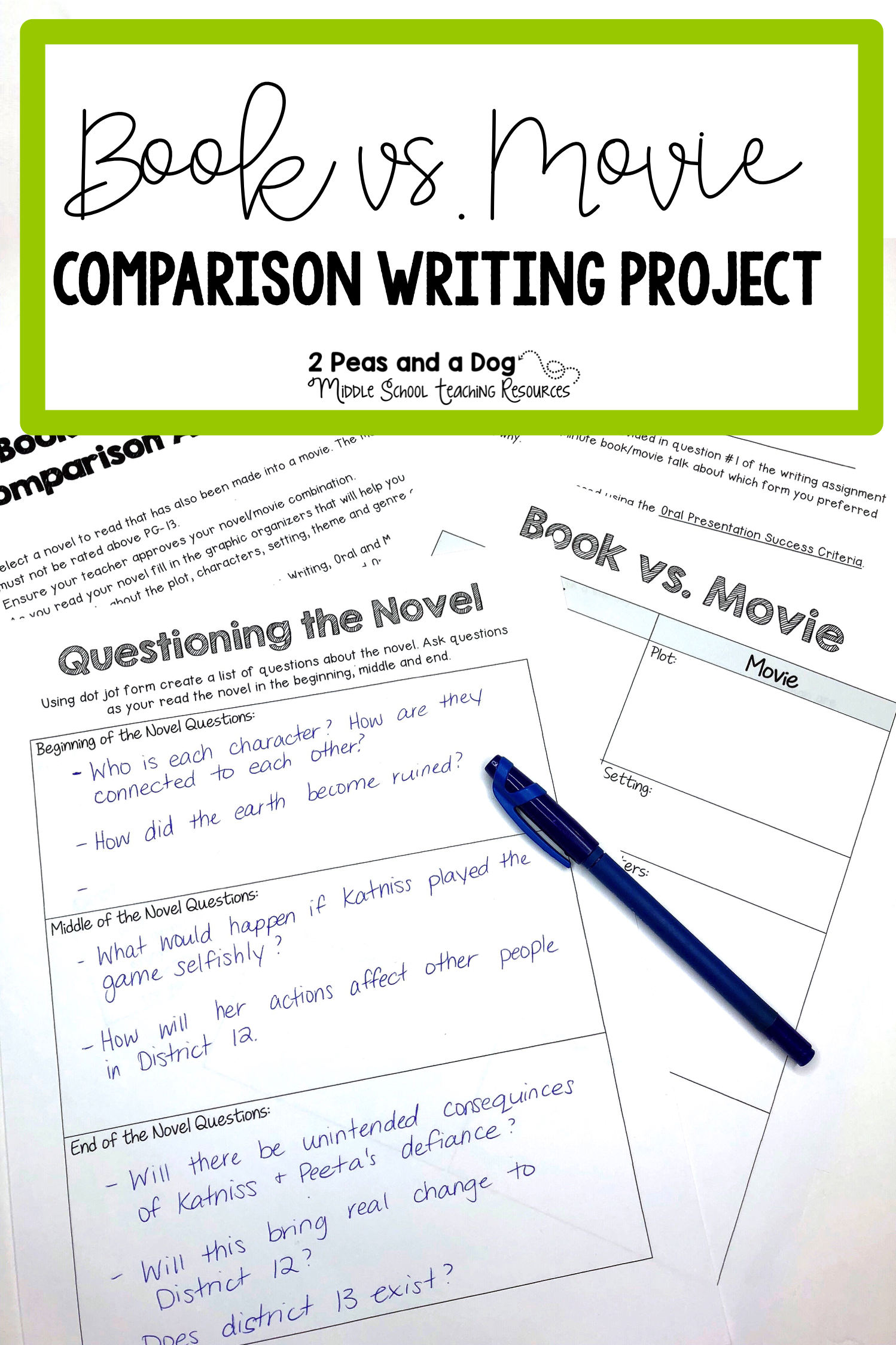 Book Versus Movie Comparison Analysis Project Book Versus Movie