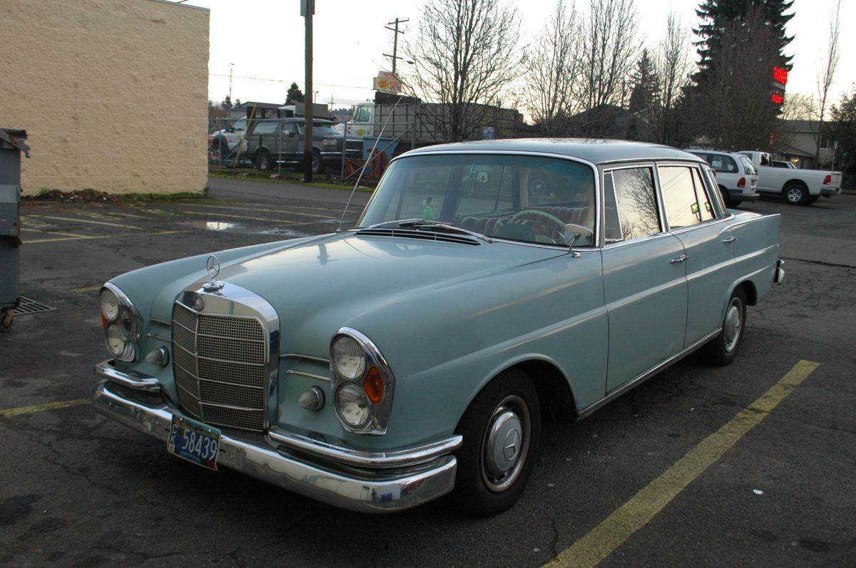 Mercedes Benz Portland >> 2nd Car That My Ex And I Owned 1963 Mercedes Benz 220s