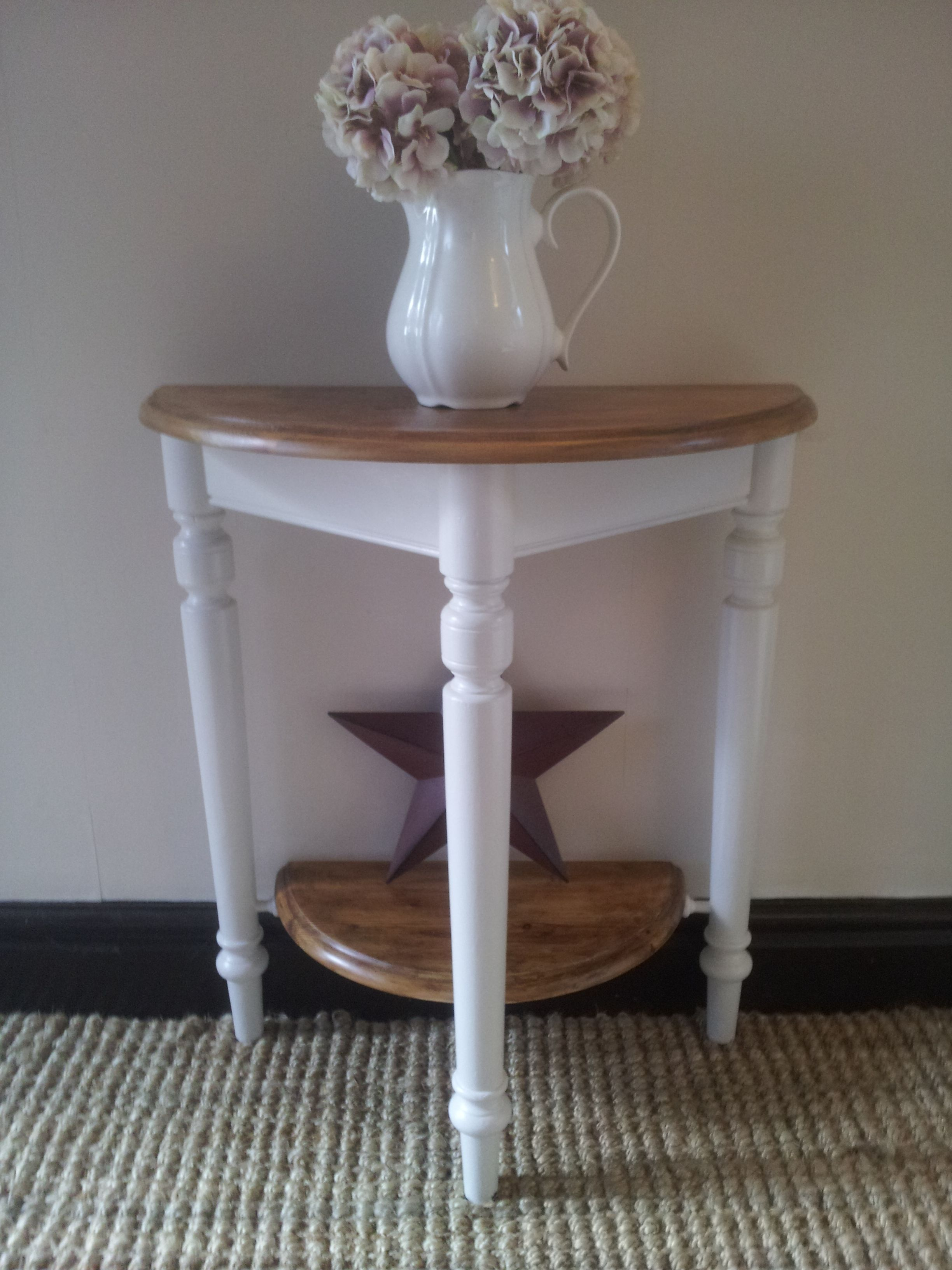 stone hall table. Painted With Skimming Stone By Farrow And Ball. Cute Hallway Table Https:// Hall E