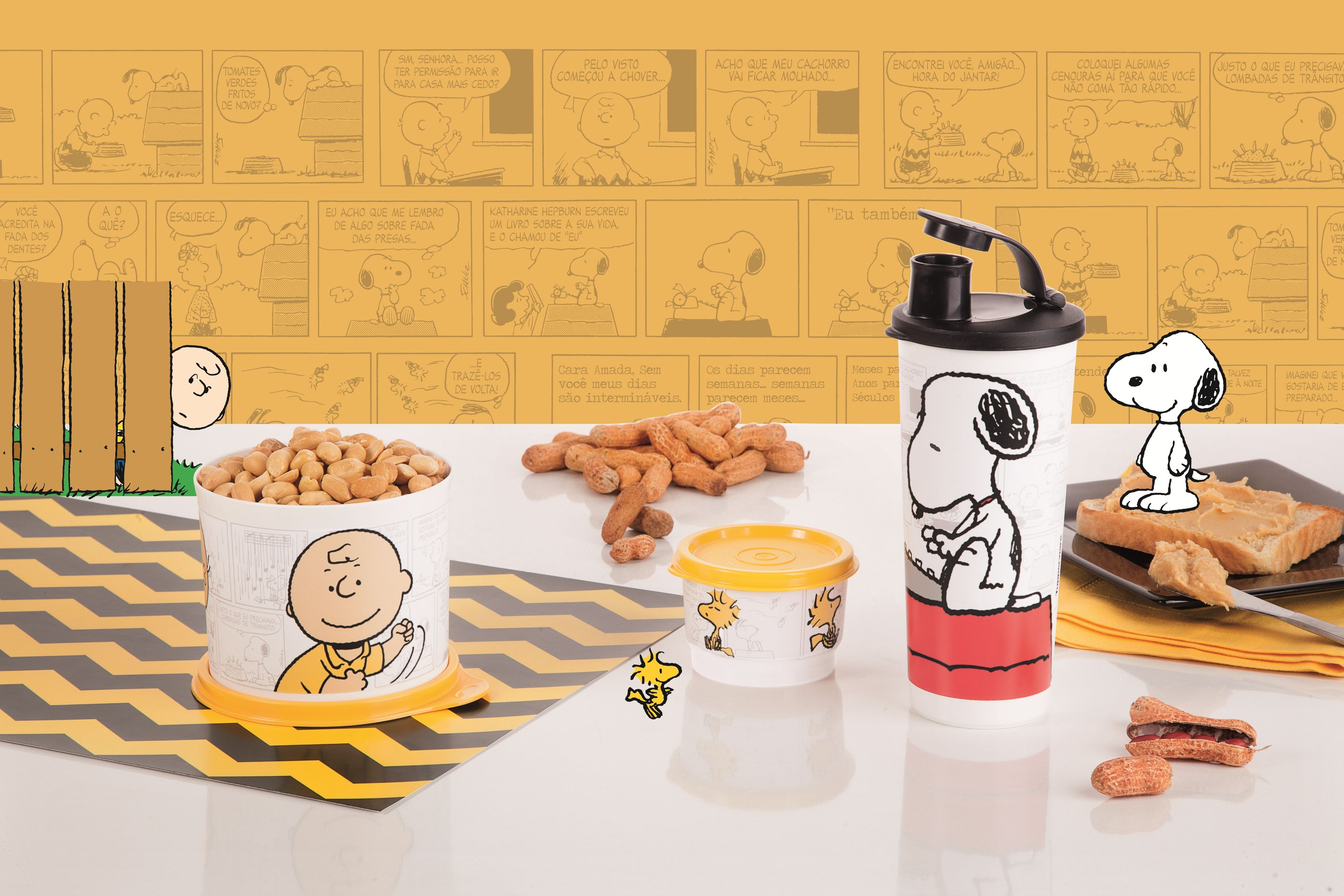 Tupperware Snoopy