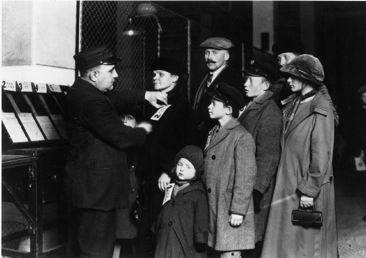 Pin On Ellis Island