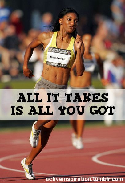 All it takes is all you got