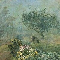 misty morning / sisley