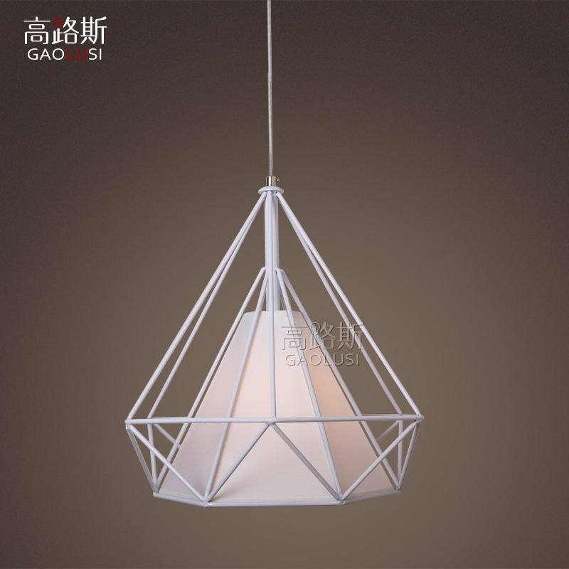58.00$  Buy here - http://alihcr.worldwells.pw/go.php?t=32767029783 - lamparas Nordic Loft studio cage Pendant avize modern minimalist restaurant chandelier personalized clothing store cafe bar