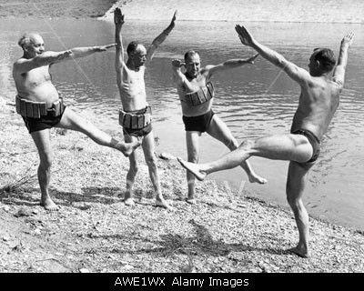 Mitglieder des TuS Regensburg, 50er Jahre © presse-bild-poss / Alamy