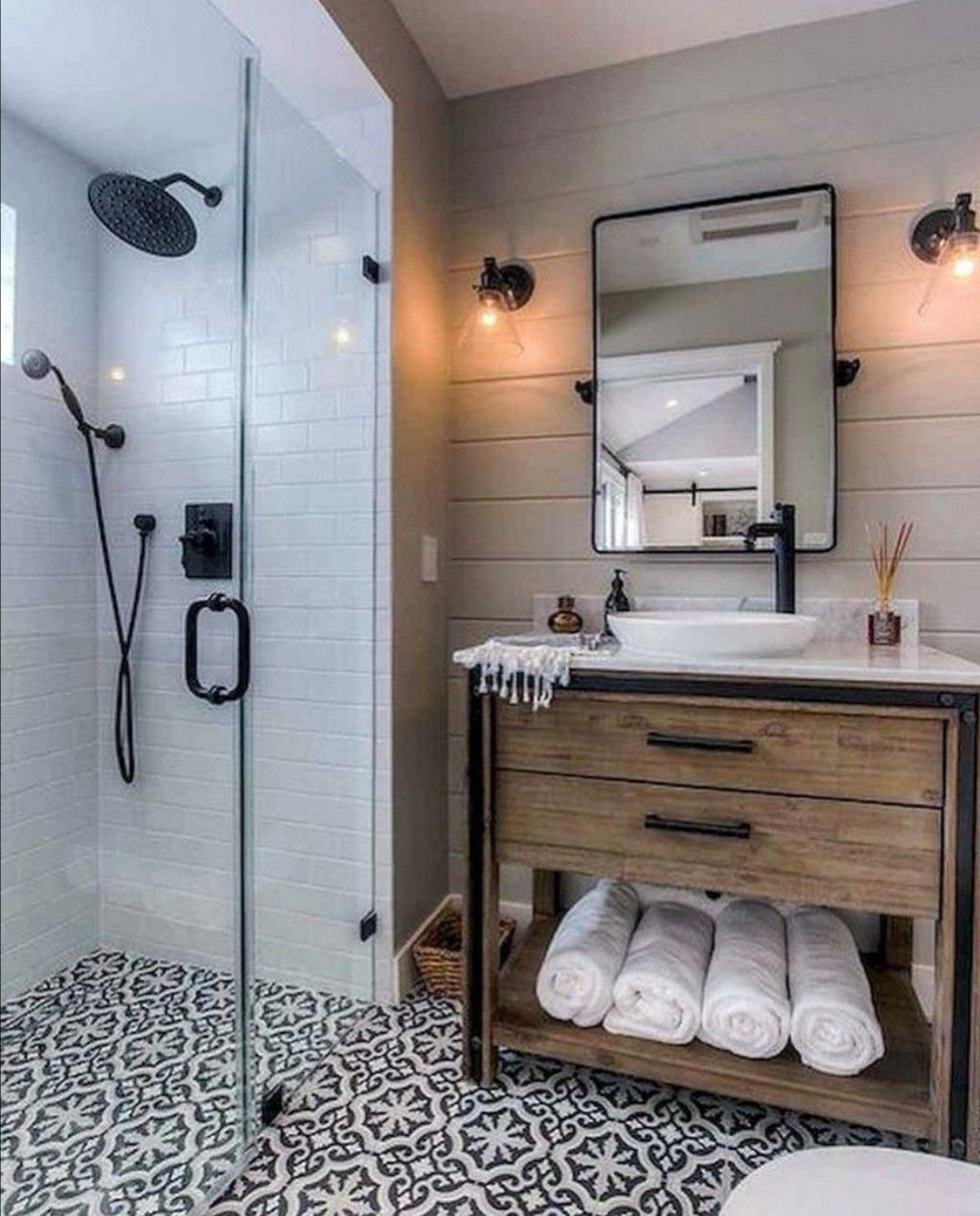 Pin On For The Home Master bathroom wall decor