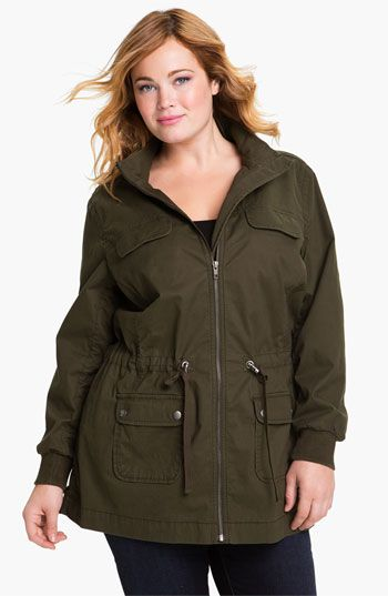 In need of a olive hooded anorak or fisherman style jacket #Nordstrom