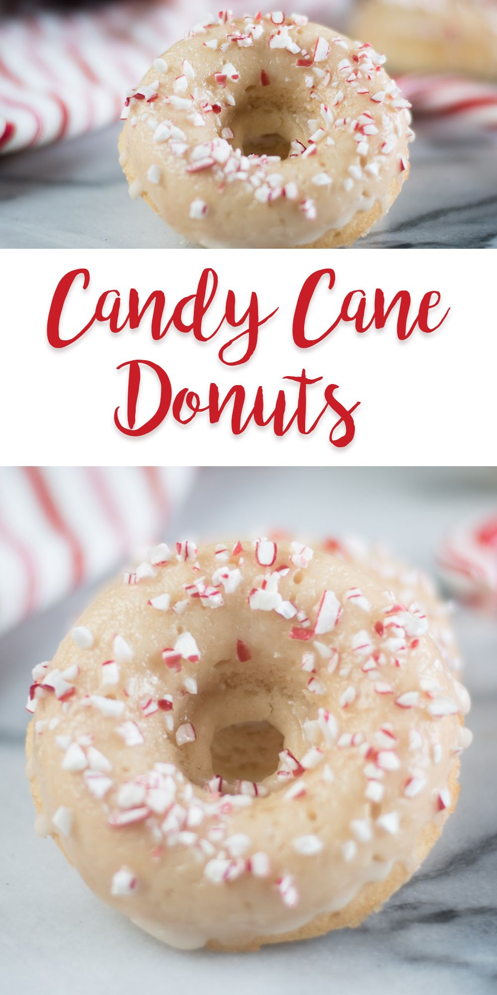 Candy Cane Donuts
