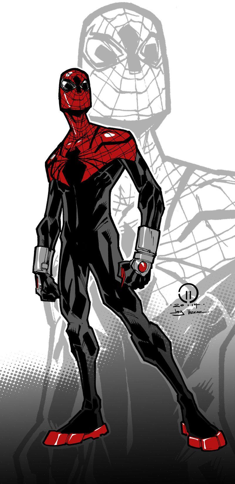 Superior Spider Man Color By Joeyvazquez On Deviantart Spiderman Comics Artwork Spider