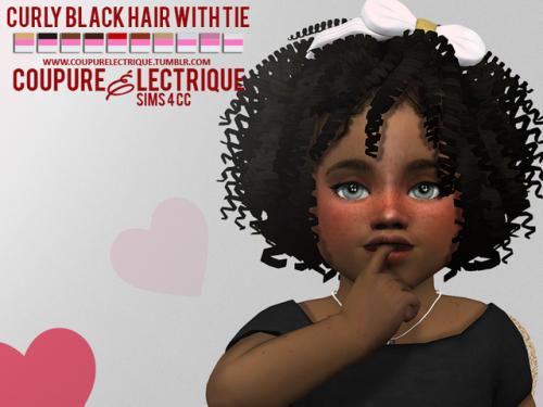 Pin By Lauren Taylor On Cc Cheveux Sims 4 Black Hair Sims Hair Sims 4 Curly Hair