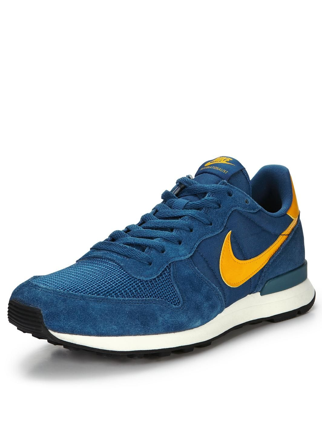 fb8d9ee4531 Nike Internationalist Trainers in Blue for Men (blue yellow)