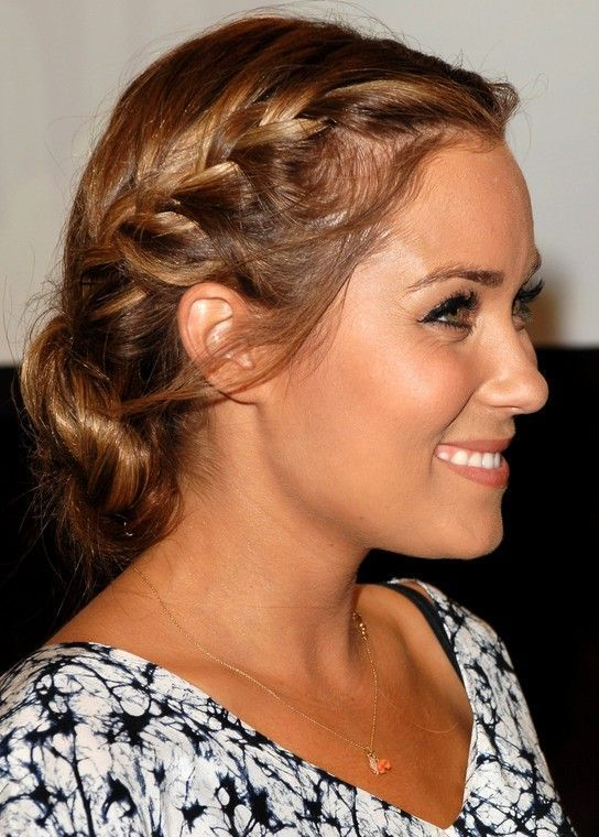 Side View of braided