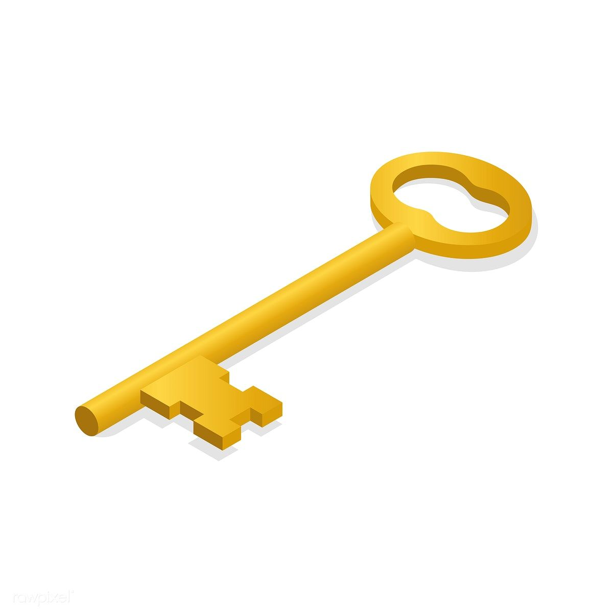 Vector Image Of Key Icon Free Image By Rawpixel Com Key Icon Key Drawings Vector Images