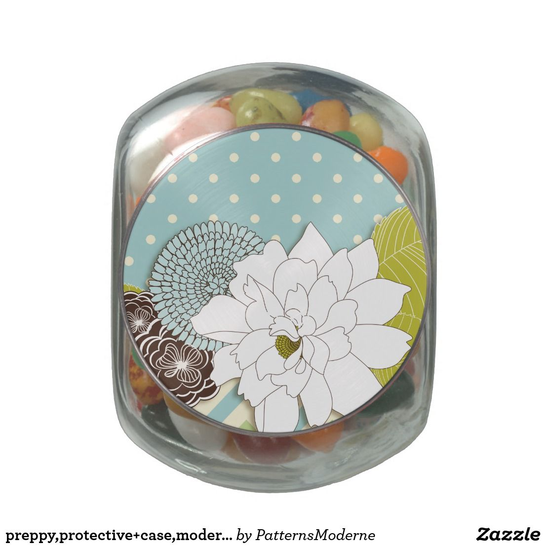 Preppy,protective+case,modern+circle+flowers,mod+h jelly belly candy ...