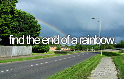 Find the end of a rainbow