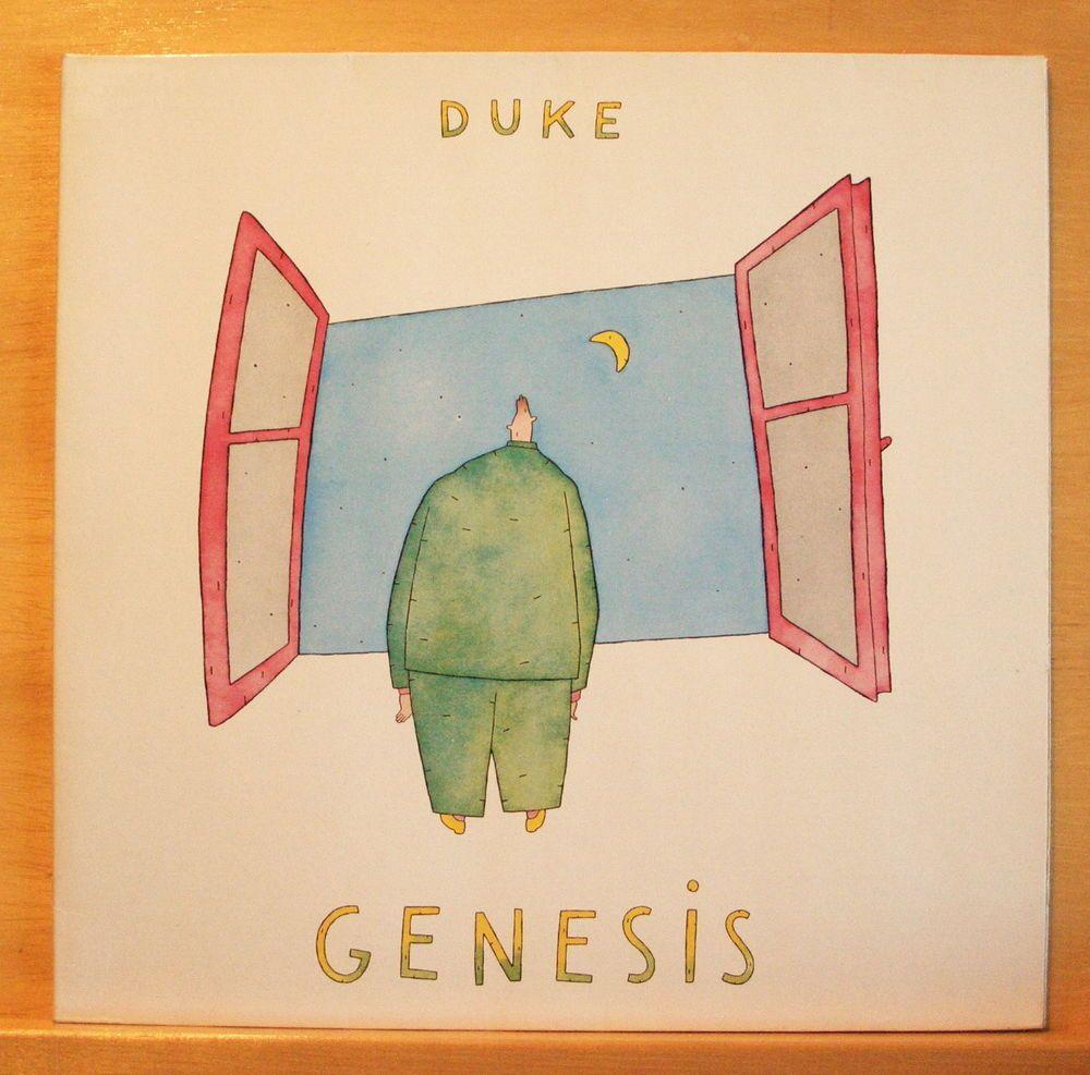 Genesis Duke Vinyl Lp Turn It On Again Behind The Line Man Of