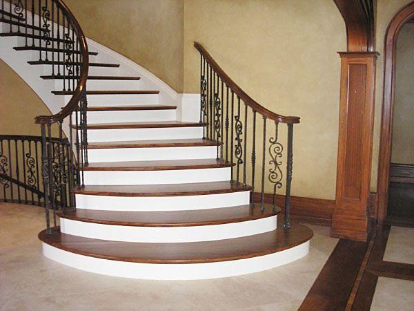 Semi Circular Stairs Staircase Design Circular Stairs Stairs | Semi Spiral Staircase Design | Curved Staircase | Residential Library | Interior | Futuristic | Iron